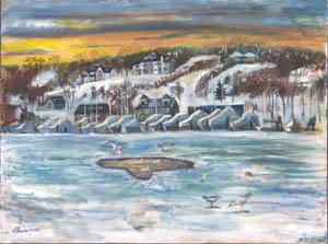 Huntington Harbor Winter