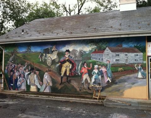 George Washington Mural 2