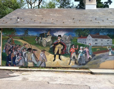 George Washington Mural 1
