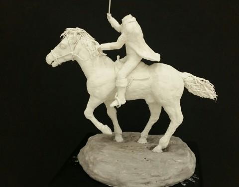 Headless Horseman Sculpture